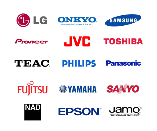 Video Factory authorised repairer brands list