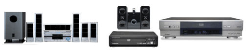 Home Theatre system, Stereo and recorders